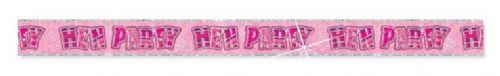 PINK HEN PARTY PRISM BANNER